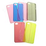 Cover Mobile Phone, Plastike PC, Drejtkëndësh, asnjë, për 5g, ngjyra të përziera, 60.50x120.60x10.50mm, 50PC/Qese,  Qese