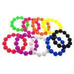 Rrathë Silicone, Shape Tjera, asnjë, ngjyra të përziera, 14.50mm, : 8Inç, 100Fillesat/Shumë,  Shumë
