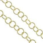 925 Zinxhirët Silver Sterling, 925 Sterling Silver, ari praruar vërtetë, asnjë, 5x5x0.50mm, : 4mm,  m