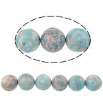 Rain Beads lule gur, Lule Rain Stone, Round, natyror, 14mm, : 15Inç, 27PC/Fije floku,  15Inç,