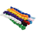Cord Silk, Mëndafsh, ngjyra të përziera, 1mm, :3000m, 10Çanta/Shumë,  Shumë