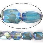 Imitim Swarovski Crystal Beads, Kristal, Shape Tjera, asnjë, imitim kristal Swarovski & makinë faceted, asnjë, 19x14x11mm, : 1mm, 100PC/Shumë,  Shumë