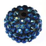 Beads diamant i rremë Rrëshirë, Rrëshirë diamant i rremë, Daulle, asnjë, 16x18mm, : 3mm, 100PC/Qese,  Qese
