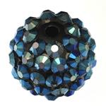 Beads diamant i rremë Rrëshirë, Rrëshirë diamant i rremë, Daulle, asnjë, 14x16mm, : 2.5mm, 100PC/Qese,  Qese