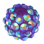 Beads diamant i rremë Rrëshirë, Rrëshirë diamant i rremë, Daulle, asnjë, vjollcë, 12x14mm, : 2.5mm, 100PC/Qese,  Qese