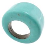 Ring Finger gur i çmuar, Bruz sintetike, 18.5mm, 16.5mm, :5.5, 50PC/Shumë,  Shumë