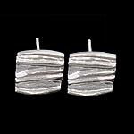 925 Sterling Silver vëth Post, argjend praruar vërtetë, asnjë, 8x12x0.80mm, 5Çiftet/Shumë,  Shumë