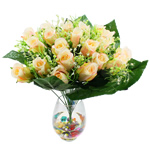 Lule artificiale Kryesore Dekor, Mëndafsh, Shape Tjera, 500x480mm, 10PC/Qese,  Qese