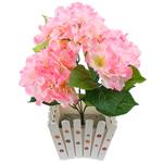Lule artificiale Kryesore Dekor, Mëndafsh, Shape Tjera, rozë, 440x400mm, 10PC/Qese,  Qese