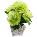 Lule artificiale Kryesore Dekor, Mëndafsh, Shape Tjera, dritë bathë jeshile, 440x400mm, 10PC/Qese,  Qese