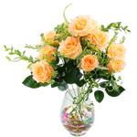 Lule artificiale Kryesore Dekor, Mëndafsh, Shape Tjera, krem të verdhë, 550x330mm, 10PC/Qese,  Qese