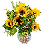 Lule artificiale Kryesore Dekor, Mëndafsh, Shape Tjera, i verdhë, 450x310mm, 10PC/Qese,  Qese
