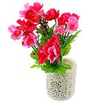 Lule artificiale Kryesore Dekor, Mëndafsh, Shape Tjera, rozë, 330x200mm, 10PC/Qese,  Qese
