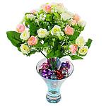Lule artificiale Kryesore Dekor, Mëndafsh, Shape Tjera, 290x180mm, 10PC/Qese,  Qese