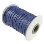 Cord Wax, vjollcë e errët, 2mm, :100Oborr, 3PC/Shumë,  Shumë