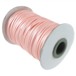 Cord Wax, Pink fuchsia, 2mm, :100Oborr, 3PC/Shumë,  Shumë