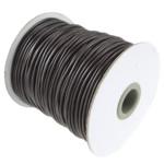 Cord Wax, ngjyrë kafe, 2mm, :100Oborr, 3PC/Shumë,  Shumë