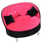Bizhuteri Velveteen Set Box, Divan, rozë, 210x150x150mm, 5Boxes/Shumë,  Shumë