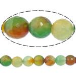 Rainbow Natyrore Beads agat, Rainbow agat, Round, asnjë, makinë faceted, 12mm, : 2mm, : 15Inç, 5Fillesat/Shumë,  Shumë