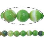 Beads Dashuri Green agat, Jeshile agat, Round, asnjë, makinë faceted & shirit, 6mm, : 2mm, : 15Inç, 5Fillesat/Shumë,  Shumë
