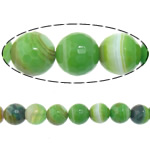 Beads Dashuri Green agat, Jeshile agat, Round, asnjë, makinë faceted & shirit, 14mm, : 2mm, :15Inç, 5Fillesat/Shumë,  Shumë