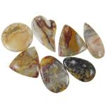 Agat pendants bizhuteri, Agat Original Color, i përzier, 42-62mm, : 2-2.5mm, 20PC/Qese,  Qese