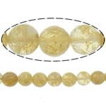 Beads Stone Kafe, Round, 4mm, : 1.2mm, :15Inç, 10Fillesat/Shumë,  Shumë