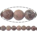Beads rodoniti, Round, natyror, 4mm, : 2mm, :15..5Inç, 10Fillesat/Shumë,  Shumë
