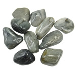 Komponenti varëse gur i çmuar, Grey agat, Shape përziera, 41-54mm,  KG