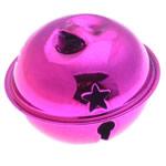Hekuri Pendants Bell, pikturë, , nikel çojë \x26amp; kadmium falas, 28x35mm, : 6x3mm, 100PC/Qese,  Qese