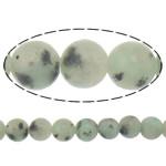 Lotus Jaspis Perlen, Lotos Jaspis, rund, natürlich, 10mm, Bohrung:ca. 1.5mm, Länge:ca. 15 ZollInch, 10SträngeStrang/Menge, ca. 37PCs/Strang, verkauft von Menge