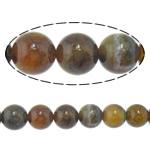 Veins Natyrore Dragon agat Beads, Agat Dragon venë, Round, 12mm, : 2.2mm, :15.5Inç, 10Fillesat/Shumë,  Shumë