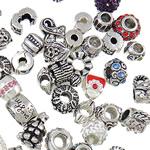 Zink Alloy Gjetjet bizhuteri, Alloy zink, Shape Tjera, asnjë, i përzier, asnjë, , nikel çojë \x26amp; kadmium falas, 9-16mm, : approx 3-5mm, 100PC/Qese,  Qese