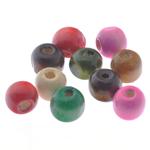 Beads druri, Daulle, i lyer, ngjyra të përziera, 8.5x10mm, : 3mm, 2000PC/Qese,  Qese