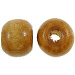 Beads druri, Daulle, i lyer, midium verdhë, 6.5x8mm, : 3mm, 3600PC/Qese,  Qese