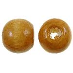 Beads druri, Daulle, i lyer, midium verdhë, 9x11mm, : 3mm, 1900PC/Qese,  Qese
