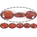 Imitim Swarovski Crystal Beads, Kristal, Oval Flat, asnjë, imitim kristal Swarovski & makinë faceted, Topaz tymosur, 12x16x7mm, : 1mm, 100PC/Shumë,  Shumë