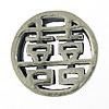 Bali Sterling Silver Beads, Tajlandë, Round Flat, asnjë, asnjë, asnjë, 12x12x4mm, : 4x2mm, 5PC/Qese,  Qese