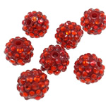 Beads diamant i rremë Rrëshirë, Rrëshirë diamant i rremë, Daulle, asnjë, i tejdukshëm, Zymbyl, 12x14mm, : 2.5mm, 100PC/Qese,  Qese