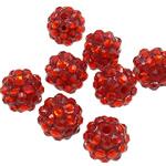 Beads diamant i rremë Rrëshirë, Rrëshirë diamant i rremë, Daulle, asnjë, i tejdukshëm, Zymbyl, 10x12mm, : 2mm, 100PC/Qese,  Qese