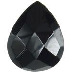 Agat Cabochon, Black agat, Lot, asnjë, 17.50x22x7mm, 20PC/Qese,  Qese