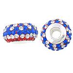 Swarovski Crystal Beads, Rondelle, ngjyra të përziera, 8x14mm, : 5mm, 5PC/Qese,  Qese
