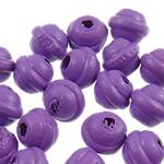 Beads druri, Rondelle, pikturë, asnjë, vjollcë, 7x6mm, : 2mm, 6250PC/Qese,  Qese