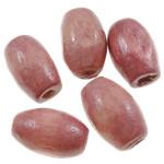 Beads druri, Daulle, i lyer, asnjë, shell rozë, 5x8mm, : 2mm, 7775PC/Qese,  Qese