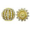 Beads bizhuteri Diamant i rremë, Rondelle, asnjë, me diamant i rremë, Kristal, 24x22mm, : 1.8mm, 20PC/Qese,  Qese