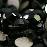 Cabochons Crystal, Kristal, Kube, i praruar, asnjë, Reaktiv, Një, 2.7-2.9mm, 10Grosses/Qese,  Qese