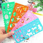 Letër shkrimi, Plastik, Drejtkëndësh, asnjë, asnjë, ngjyra të përziera, 142x65mm, 100PC/Shumë,  Shumë