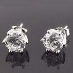 Bizhuteri Vath, 925 Sterling Silver, Lule, asnjë, me diamant i rremë, asnjë,  Palë