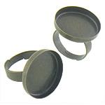 Bezel Brass Ring Base, Tunxh, Shape Tjera, Ngjyra antike bronz i praruar, asnjë, asnjë, , nikel çojë \x26amp; kadmium falas, 20.80x20.80x3.50mm, : 20x20, 17mm, :6.5, 200PC/Qese,  Qese