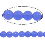 Beads Round Crystal, Kristal, Safir, 10mm, : 1.5mm, :15.5Inç, 10Fillesat/Shumë,  Shumë